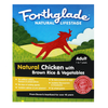 Forthglade Natural Lifestage Dog Food 18 x 395g (Chicken with Brown Rice & Veg)