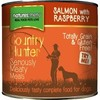 Natures Menu Country Hunter Dog Food 6 x 600g Cans (Salmon with Raspberry)