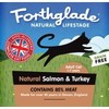 Forthglade Natural Lifestage Cat Food 12 x 90g (Salmon & Turkey)