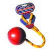 Happy Pet Jumbo Ball on a Rope Dog Toy