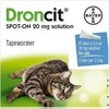 Droncit Spot On Wormer 4 Tube Pack for Cats