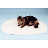 Pet Life VetBed Oval White