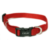 Canac Adjustable Dog Collar Red