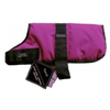 Outhwaite Padded Waterproof Dog Coat in Raspberry