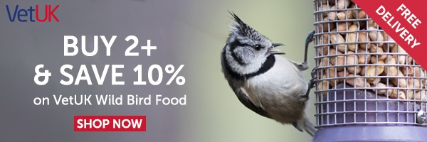 VetUK Bird Food Offer