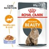 Royal Canin Intense Beauty Care Pouches in Jelly Adult Cat Food