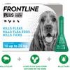 FRONTLINE Plus Flea and Tick Treatment for Medium Dogs