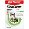 Bob Martin FleaClear Spot On for Cats (3 Treatments)