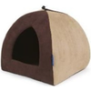 Ancol Faux Suede Timberwolf Pyramid Bed