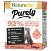 Naturediet Purely Wet Food for Dogs (Salmon & White Fish)