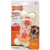 DuraChew Action Ridges Bacon Flavour Dog Bone - Wolf