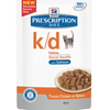 Hills Prescription Diet KD Adult Cat Food Pouches 12 x 85g (Salmon)