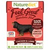 Naturediet Feel Good Wet Food for Adult Dogs (Chicken & Lamb)