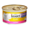 Gourmet Gold Senior Pate with Beef Cat Food 12 x 85g Tins