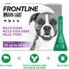 FRONTLINE Plus Flea and Tick Treatment for Large Dogs