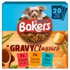 Bakers Gravy Classics Adult Dog Food Pouches (Mixed Flavours)