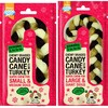 Pawsley & Ho Ho Ho Chewy Braided Candy Cane with Turkey