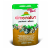 Almo Nature Green Label Chicken and Duck Fillet (24x55g Pouches)