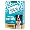 Burns Wet Dog Food Pouches (Organic Chicken)