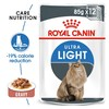 Royal Canin Ultra Light Care Pouches in Gravy Adult Cat Food