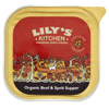 Lily's Kitchen Organic Beef and Spelt Dog Food (11 x 150g Trays)