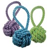 Nuts For Knots Ball Tugger Dog Toy