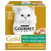 Purina Gourmet Gold Pate Collection Adult Wet Cat Food (Mixed Variety)