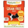 Naturediet Feel Good Grain Free Wet Food for Adult Dogs (Chicken)
