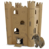 Smartkitz Cardboard Pet Castle for Small Animals