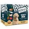 Burns Wet Dog Food Pouches (Variety Box)