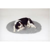 Pet Life VetBed Oval Grey