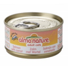 Almo Nature Moist Cat Food with Salmon and Carrot (24 x 70g Tin)