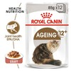 Royal Canin Ageing 12+ Pouches in Gravy Senior Cat Food