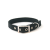 PetUK Nylon Dog Collar Black - 18