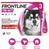 FRONTLINE Tri-Act Flea and Tick Treatment for Extra Large Dogs (3 Pipettes)