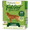 Naturediet Feel Good Wet Food for Adult Dogs (Lamb)