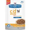 Hills Prescription Diet CD Multicare Adult Cat Food Pouches 12 x 85g (Salmon)