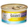 Gourmet Gold Senior Pate with Ocean Fish Cat Food 12 x 85g Tins