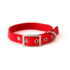 PetUK Nylon Dog Collar Red - 18