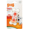 DuraChew Action Ridges Bacon Flavour Dog Bone - Regular
