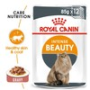 Royal Canin Intense Beauty Care Pouches in Gravy Adult Cat Food