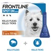 FRONTLINE Spot On Flea and Tick Treatment for Small Dogs