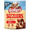 Bakers Sizzlers Dog Treats 90g (Beef)