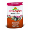 Almo Nature Rouge Label Chicken and Surimi Cat Food (24 x 55g)