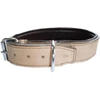Outhwaite Natural Leather Padded Collar for Dogs