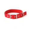 PetUK Padded Nylon Dog Collar Red - 28