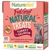 Naturediet Feel Good Natural Dog Treats (Turkey & Salmon) 150g