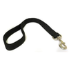 Canac Double Nylon Dog Lead Black (25mm x 1m)