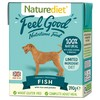 Naturediet Feel Good Wet Food for Adult Dogs (Fish)