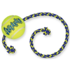 Air Kong Squeaker Tennis Ball with Rope - Medium
